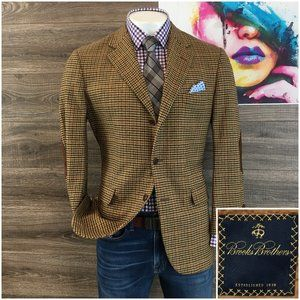 Brooks Brothers Wool Cashmere Sport Coat Jacket